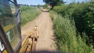 AFTER - ripping and grading of farm tracks